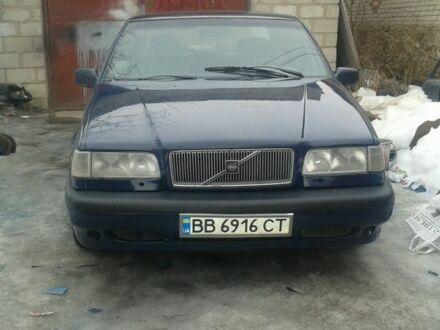 Синий Вольво 850, объемом двигателя 2.5 л и пробегом 380 тыс. км за 2200 $, фото 1 на Automoto.ua