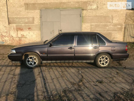 Фиолетовый Вольво 960, объемом двигателя 2.92 л и пробегом 400 тыс. км за 3300 $, фото 1 на Automoto.ua