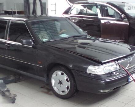 Чорний Вольво 960, об'ємом двигуна 3 л та пробігом 380 тис. км за 5500 $, фото 1 на Automoto.ua