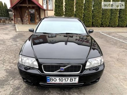 Чорний Вольво S80, об'ємом двигуна 2 л та пробігом 240 тис. км за 5200 $, фото 1 на Automoto.ua