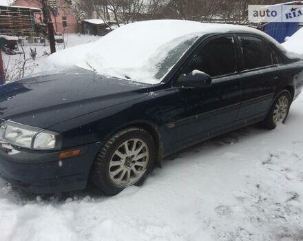 Синій Вольво S80, об'ємом двигуна 2 л та пробігом 200 тис. км за 4800 $, фото 1 на Automoto.ua