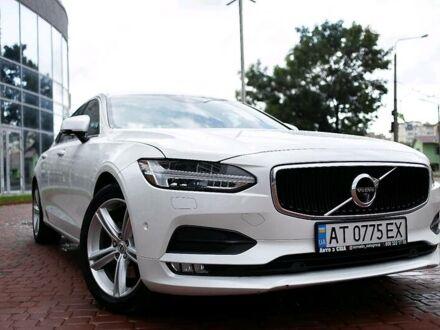 Білий Вольво S90, об'ємом двигуна 2 л та пробігом 44 тис. км за 34500 $, фото 1 на Automoto.ua
