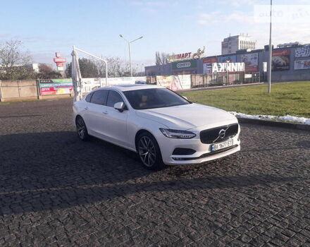 Білий Вольво S90, об'ємом двигуна 2 л та пробігом 27 тис. км за 33800 $, фото 1 на Automoto.ua