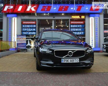 Черный Вольво С90, объемом двигателя 2 л и пробегом 34 тыс. км за 30900 $, фото 1 на Automoto.ua