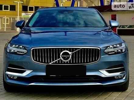 Синій Вольво S90, об'ємом двигуна 2 л та пробігом 38 тис. км за 35555 $, фото 1 на Automoto.ua