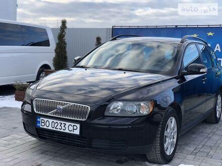 Чорний Вольво V50, об'ємом двигуна 1.6 л та пробігом 218 тис. км за 7250 $, фото 1 на Automoto.ua