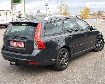 Черный Вольво В50, объемом двигателя 1.6 л и пробегом 190 тыс. км за 7450 $, фото 1 на Automoto.ua