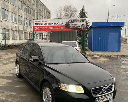 Черный Вольво В50, объемом двигателя 1.6 л и пробегом 190 тыс. км за 7899 $, фото 1 на Automoto.ua