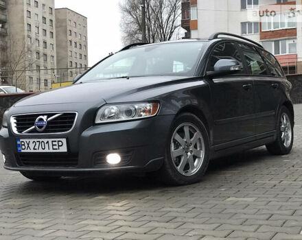 Сірий Вольво V50, об'ємом двигуна 1.6 л та пробігом 198 тис. км за 7999 $, фото 1 на Automoto.ua