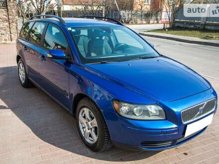 Синій Вольво V50, об'ємом двигуна 1.6 л та пробігом 231 тис. км за 5700 $, фото 1 на Automoto.ua