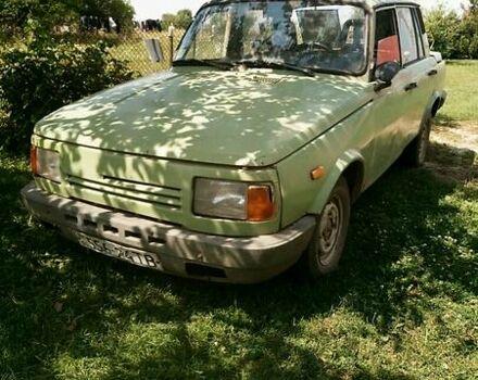 Зеленый Вартбург 1.3, объемом двигателя 1.3 л и пробегом 100 тыс. км за 650 $, фото 1 на Automoto.ua