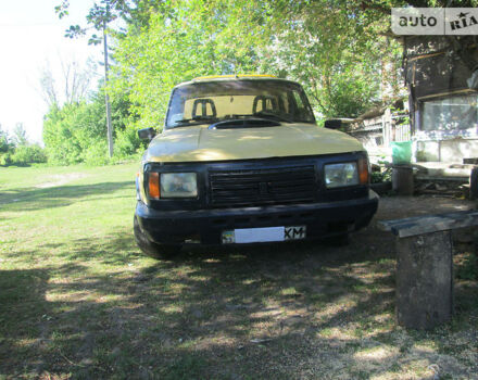 Желтый Вартбург 353, объемом двигателя 1.3 л и пробегом 29 тыс. км за 850 $, фото 1 на Automoto.ua