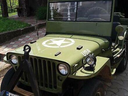 Зелений Вілліс MB, об'ємом двигуна 2.2 л та пробігом 1 тис. км за 12500 $, фото 1 на Automoto.ua