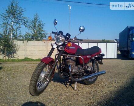 Красный Ява-cz 350, объемом двигателя 0.35 л и пробегом 1 тыс. км за 1000 $, фото 1 на Automoto.ua