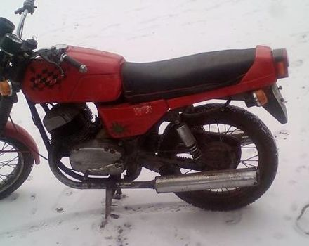 Красный Ява-cz 350, объемом двигателя 0.15 л и пробегом 100 тыс. км за 800 $, фото 1 на Automoto.ua