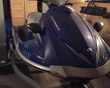 Синий Ямаха ВавРанер, объемом двигателя 0 л и пробегом 9 тыс. км за 8500 $, фото 1 на Automoto.ua