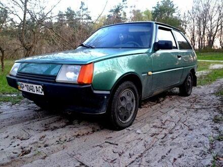 Зеленый ЗАЗ 1102 Таврия, объемом двигателя 1.1 л и пробегом 92 тыс. км за 2000 $, фото 1 на Automoto.ua