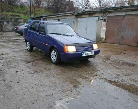 Синий ЗАЗ 1103 Славута, объемом двигателя 1.2 л и пробегом 111 тыс. км за 1600 $, фото 1 на Automoto.ua