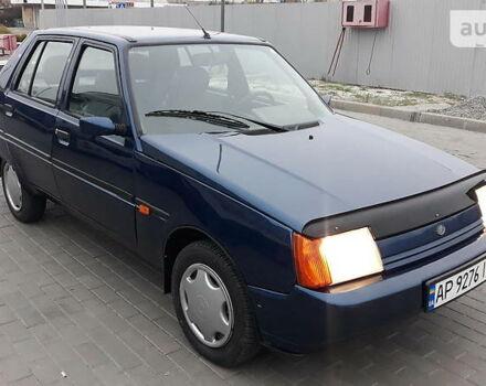 Синій ЗАЗ 1103 Славута, об'ємом двигуна 1.2 л та пробігом 102 тис. км за 2000 $, фото 1 на Automoto.ua