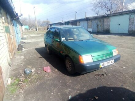 Зеленый ЗАЗ 1103 Славута, объемом двигателя 2.3 л и пробегом 75 тыс. км за 1573 $, фото 1 на Automoto.ua