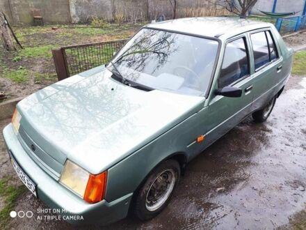 Зеленый ЗАЗ 1103 Славута, объемом двигателя 1.2 л и пробегом 112 тыс. км за 1300 $, фото 1 на Automoto.ua