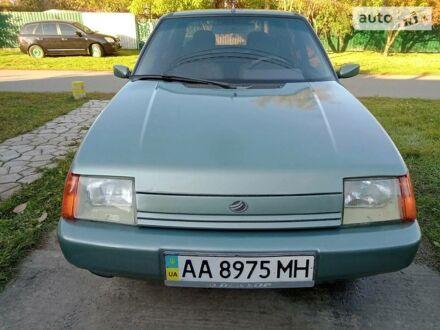 Зеленый ЗАЗ 1103 Славута, объемом двигателя 1.2 л и пробегом 125 тыс. км за 2100 $, фото 1 на Automoto.ua