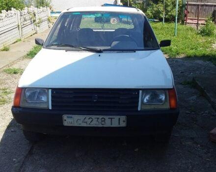 Белый ЗАЗ 1105 Дана, объемом двигателя 1.1 л и пробегом 124 тыс. км за 650 $, фото 1 на Automoto.ua
