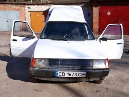 Білий ЗАЗ 1105 Дана, об'ємом двигуна 1.25 л та пробігом 225 тис. км за 1100 $, фото 1 на Automoto.ua