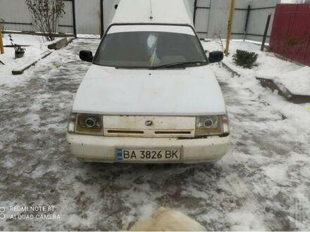 Белый ЗАЗ 1105 Дана, объемом двигателя 1.2 л и пробегом 156 тыс. км за 1300 $, фото 1 на Automoto.ua