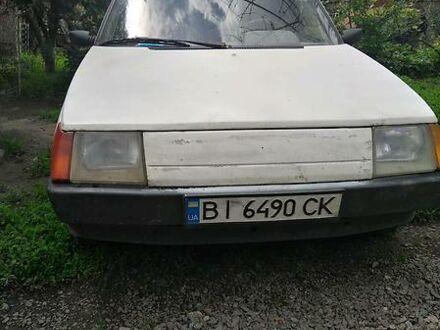 Белый ЗАЗ 1105 Дана, объемом двигателя 1.2 л и пробегом 170 тыс. км за 700 $, фото 1 на Automoto.ua