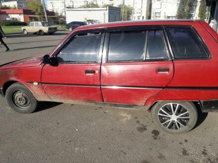 Красный ЗАЗ 1105 Дана, объемом двигателя 1.2 л и пробегом 1 тыс. км за 899 $, фото 1 на Automoto.ua
