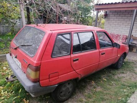 Красный ЗАЗ 1105 Дана, объемом двигателя 1.1 л и пробегом 1 тыс. км за 1500 $, фото 1 на Automoto.ua
