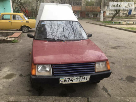 Красный ЗАЗ 1105 Дана, объемом двигателя 0 л и пробегом 143 тыс. км за 900 $, фото 1 на Automoto.ua