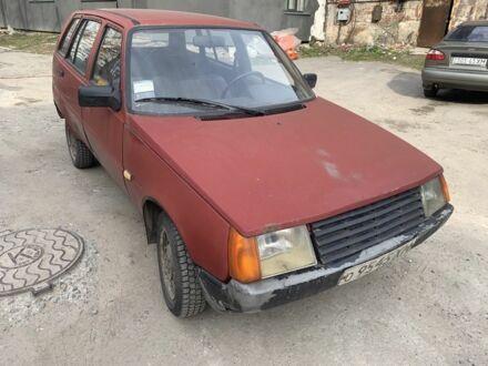Вишнёвый ЗАЗ 1105 Дана, объемом двигателя 1 л и пробегом 1 тыс. км за 850 $, фото 1 на Automoto.ua