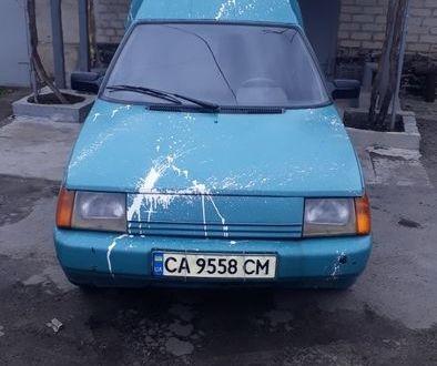 Зеленый ЗАЗ 1105 Дана, объемом двигателя 1.19 л и пробегом 1 тыс. км за 1300 $, фото 1 на Automoto.ua