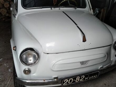 Белый ЗАЗ 965, объемом двигателя 3 л и пробегом 100 тыс. км за 1200 $, фото 1 на Automoto.ua