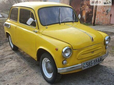 Желтый ЗАЗ 965, объемом двигателя 1.1 л и пробегом 100 тыс. км за 1700 $, фото 1 на Automoto.ua