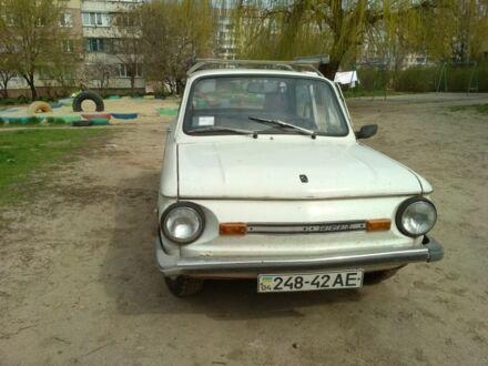 Белый ЗАЗ 968, объемом двигателя 1.2 л и пробегом 127 тыс. км за 552 $, фото 1 на Automoto.ua