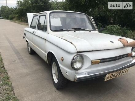 Білий ЗАЗ 968, об'ємом двигуна 1.6 л та пробігом 100 тис. км за 300 $, фото 1 на Automoto.ua