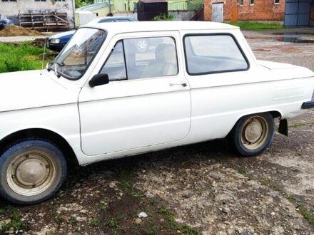 Белый ЗАЗ 968, объемом двигателя 1.2 л и пробегом 40 тыс. км за 500 $, фото 1 на Automoto.ua