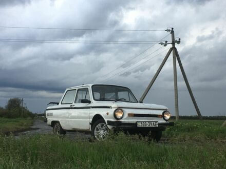 Белый ЗАЗ 968, объемом двигателя 1.2 л и пробегом 1 тыс. км за 292 $, фото 1 на Automoto.ua