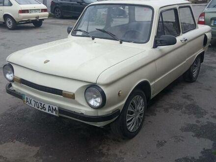 Белый ЗАЗ 968, объемом двигателя 1.5 л и пробегом 65 тыс. км за 1000 $, фото 1 на Automoto.ua