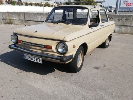 Бежевый ЗАЗ 968, объемом двигателя 1.2 л и пробегом 56 тыс. км за 647 $, фото 1 на Automoto.ua
