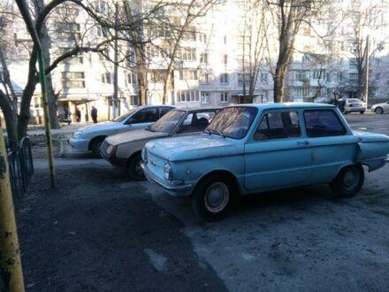 Голубой ЗАЗ 968, объемом двигателя 1.1 л и пробегом 100 тыс. км за 625 $, фото 1 на Automoto.ua