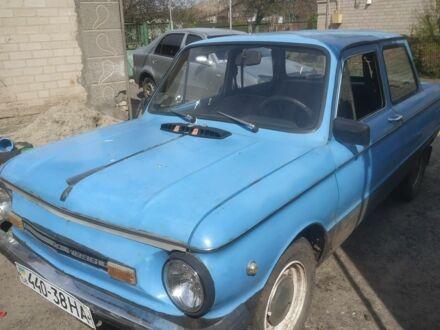 Голубой ЗАЗ 968, объемом двигателя 1.2 л и пробегом 39 тыс. км за 360 $, фото 1 на Automoto.ua
