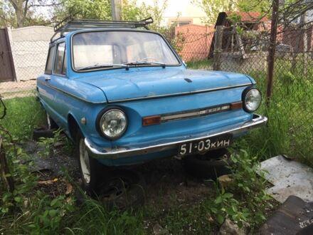Голубой ЗАЗ 968, объемом двигателя 1.2 л и пробегом 94 тыс. км за 590 $, фото 1 на Automoto.ua