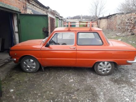 Червоний ЗАЗ 968, об'ємом двигуна 0.9 л та пробігом 144 тис. км за 286 $, фото 1 на Automoto.ua