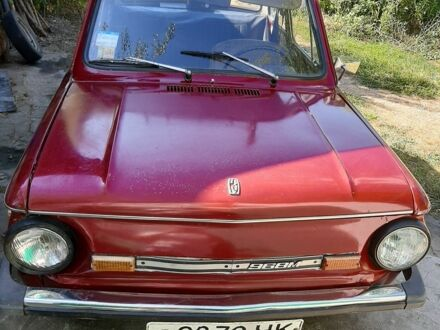 Красный ЗАЗ 968, объемом двигателя 1.2 л и пробегом 20 тыс. км за 723 $, фото 1 на Automoto.ua