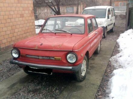 Красный ЗАЗ 968, объемом двигателя 1.2 л и пробегом 100 тыс. км за 1500 $, фото 1 на Automoto.ua