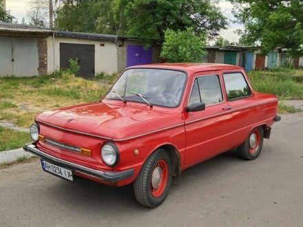Красный ЗАЗ 968, объемом двигателя 1 л и пробегом 1 тыс. км за 647 $, фото 1 на Automoto.ua